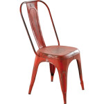 Comment faire un effet rouille sur une chaise … tous matériaux confondus !