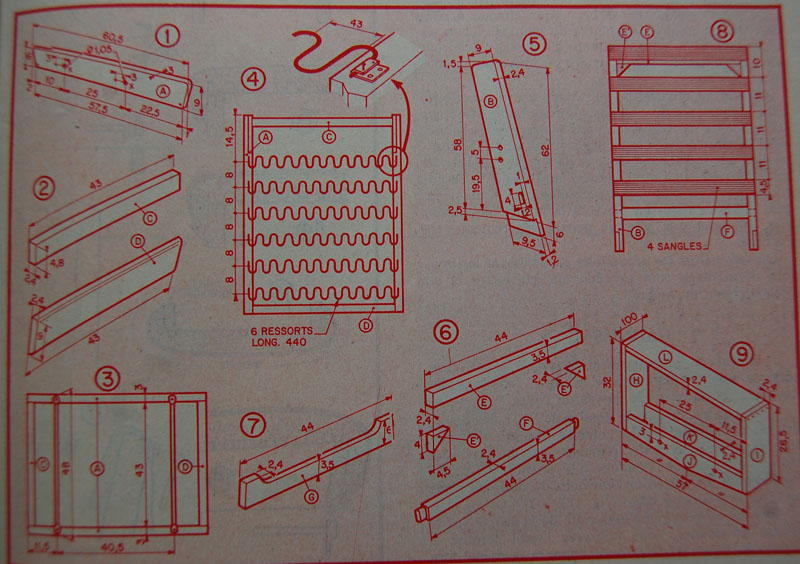 comment fabriquer un fauteuil moderne